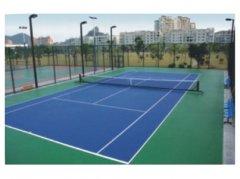 <b>硅PU网球场施工</b>