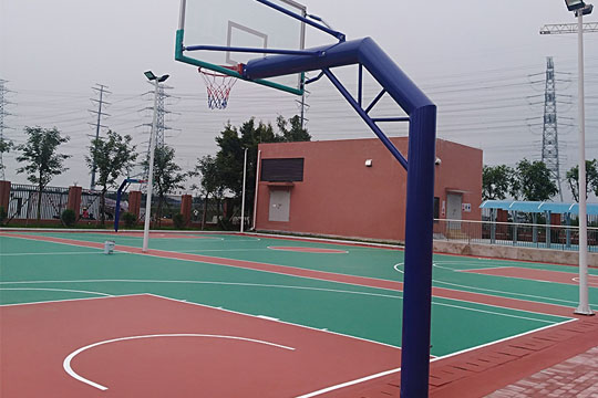 <b>硅PU篮球场施工</b>