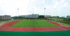 广州大学城中心体育场塑胶跑道
