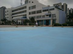 广西柳州文华中学硅pu篮球场